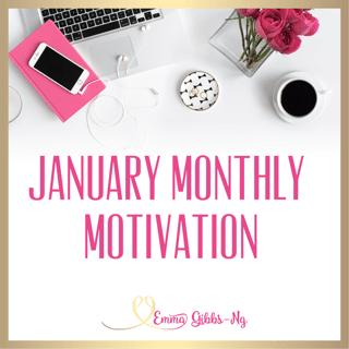 January Monthly Motivation